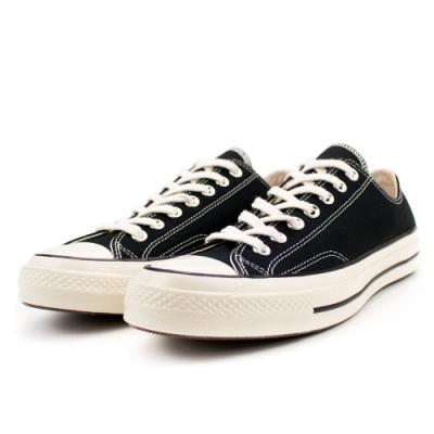 CONVERSE 1970 男女款 低筒帆布鞋-黑 162058C