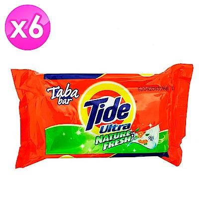 美國Tide 洗衣皂-綠色清香(125g)-6入組