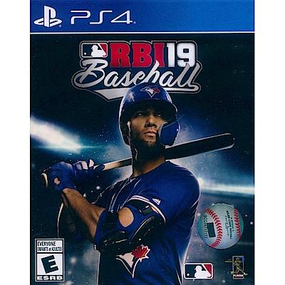 RBI 美國職棒大聯盟 19 RBI Baseball 19- PS4 英文美版