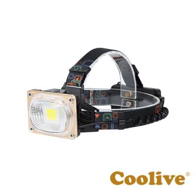 Coolive「COB」強光工程頭燈
