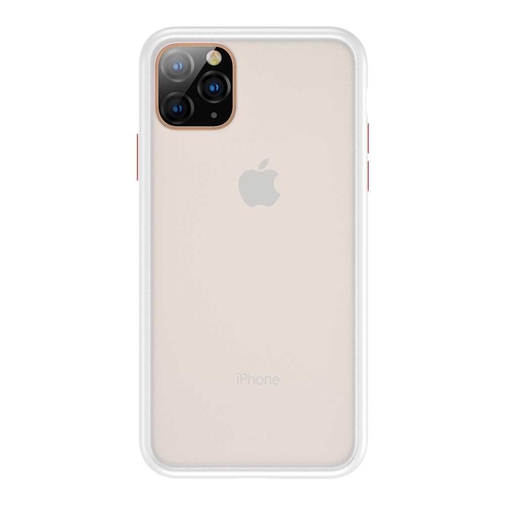 Benks iPhone11 Pro Max (6.5吋) 防摔膚感手機殼●透白