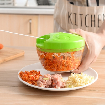 Cap不鏽鋼手拉式切菜器(快)