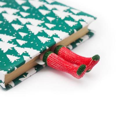 烏克蘭myBookmark-精靈聖誕襪