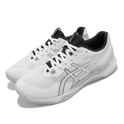 Asics 排球鞋 GEL Tactic 運動 男女鞋 亞瑟士 多功能 室內 吸震 回彈 乾爽 白 銀 1073A050100