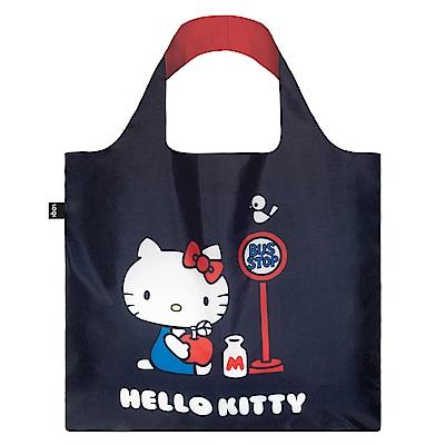LOQI 購物袋-三麗鷗授權 (Hello Kitty 巴士 KT09)