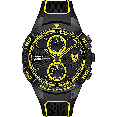 Scuderia Ferrari 法拉利 APEX日曆手錶(FA0830633)-44mm