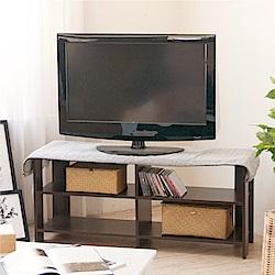 《HOPMA》DIY巧收簡約四格電視櫃-寬108 x深30 x高48cm