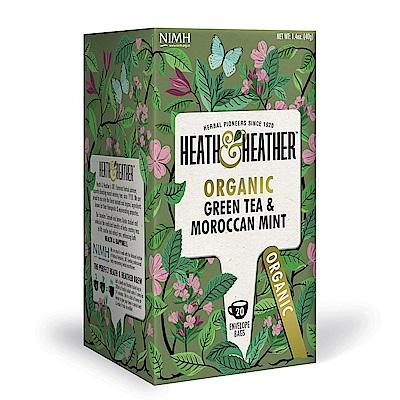Heath & Heather 有機摩洛哥薄荷綠茶(20入/盒)