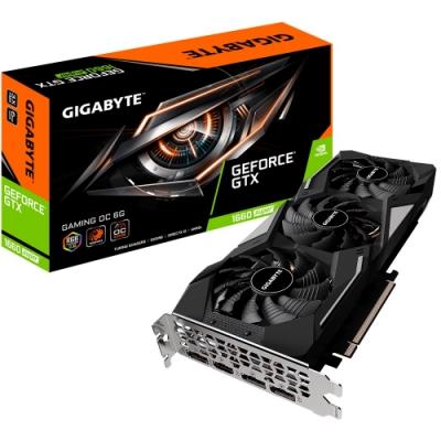 技嘉 GV-N166SGAMING OC-6GD GTX1660 SUPER 顯示卡