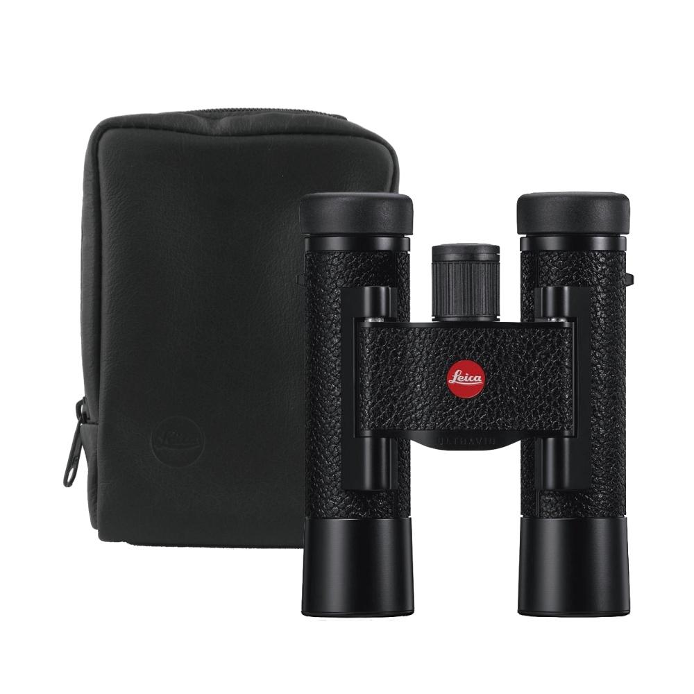 2019全新版! LEICA ULTRAVID 10X25 皮革雙筒望遠鏡-黑(德國製)
