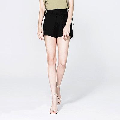 SUITANGTANG 簡約設計休閒短褲-黑
