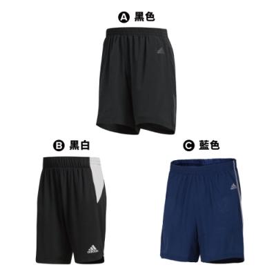 【時時樂限定】ADIDAS 男短褲(3款任選)