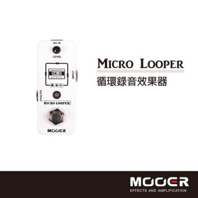 MOOER Micro Looper循環錄音效果器