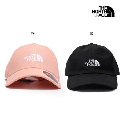 [時時樂限定] The North Face 男女 休閒百搭棒球帽 (2色任選)