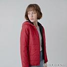 GIORDANO 女裝鋪棉連帽外套 - 24 標誌紅