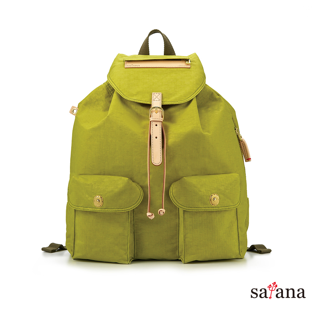 satana - 休閒束口後背包 - 檸檬香茅