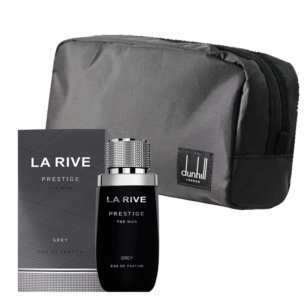 LA RIVE豪放雅仕香氛組(淡香精75ml+品牌盥洗包)