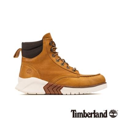Timberland 男款地球英雄小麥色皮革運動靴|A27VE