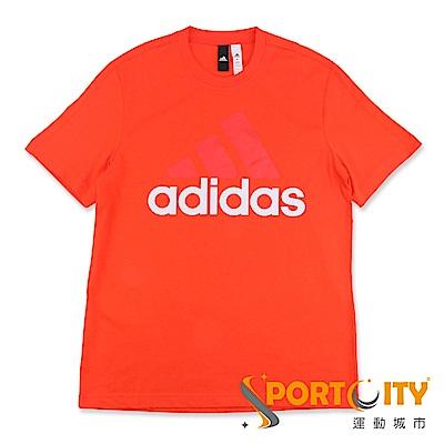 ADIDAS-男 短袖上衣-CE1926-橘紅