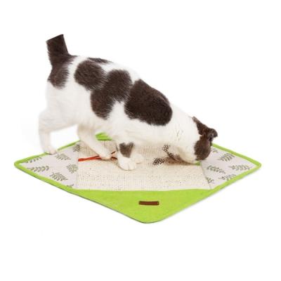 寵愛有家-劍麻日式風格寵物玩樂睡覺玩具毯子墊(逗貓玩具)