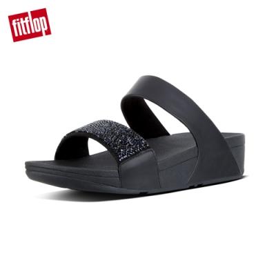FitFlop SPARKLIE CRYSTAL SLIDE 涼鞋 黑色