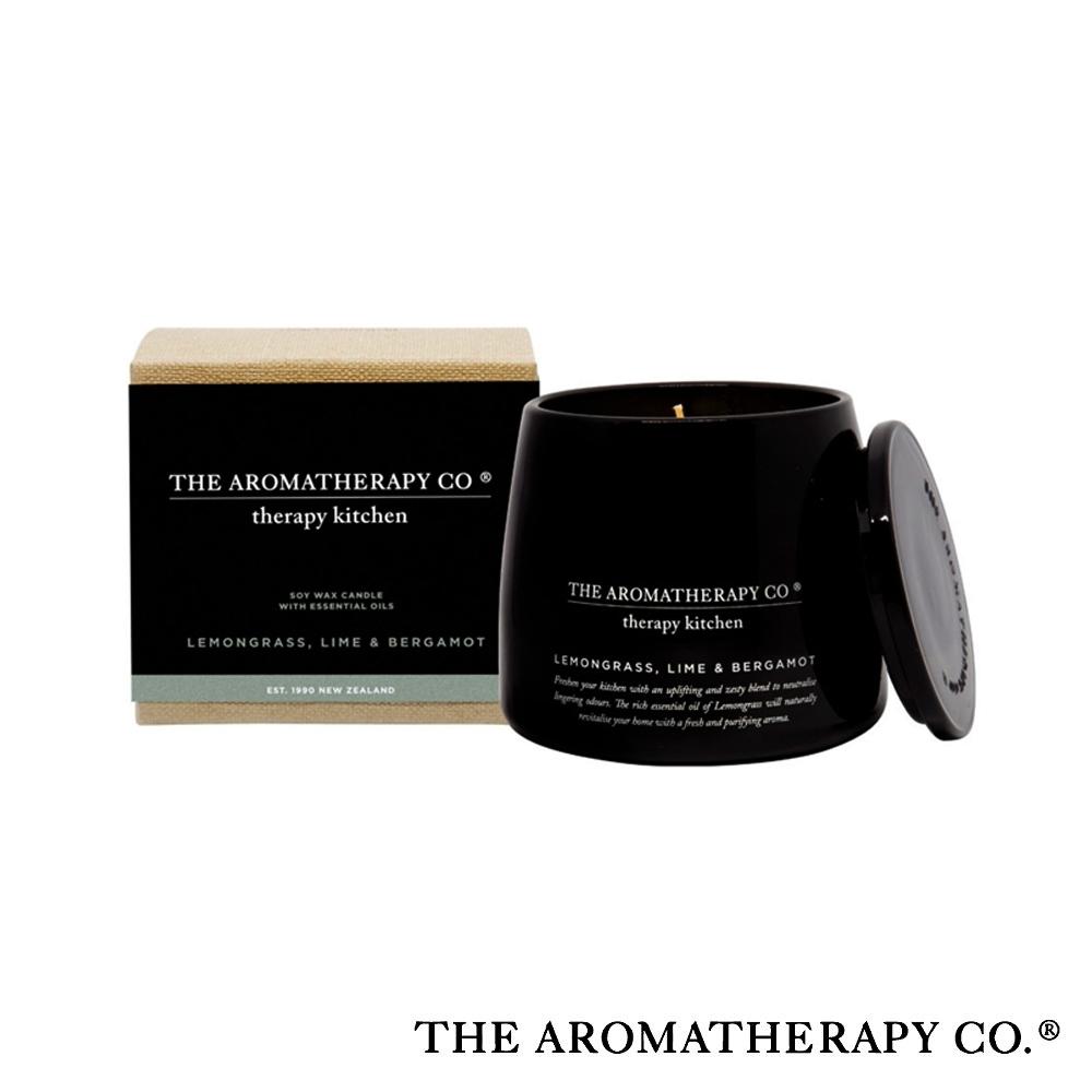 The Aromatherapy Co. 紐西蘭天然香氛 Therapy Kitchen系列 檸檬草佛手柑 260g 香氛蠟燭
