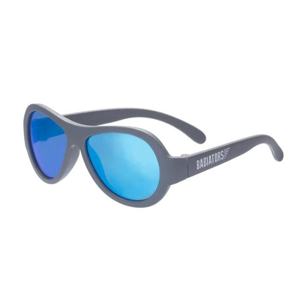 美國BABIATORS 嬰幼兒太陽眼鏡-藍面灰