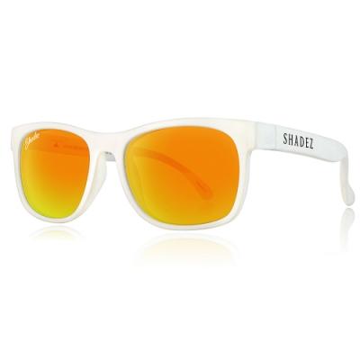 瑞士SHADEZ兒童頂級偏光太陽眼鏡SHZ-414(年齡3-7)-白框霧金