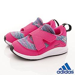 adidas童鞋 FortaRun針織鞋款 TW2659桃彩(寶寶段)