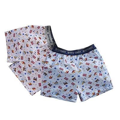 男童精梳棉平口內褲(四件一組) k50965 魔法Baby