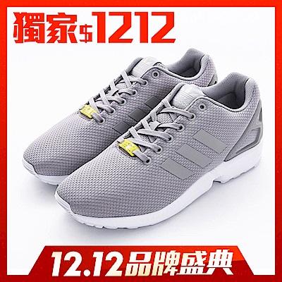 ADIDAS ZX FLUX 男女休閒鞋 M19838 灰