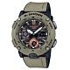 G-SHOCK 引領潮流碳纖維防護設計休閒腕錶-卡其(GA-2000-5A)51.2mm product thumbnail 1