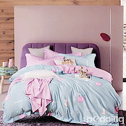 BEDDING-3M專利+頂級天絲-兒童專用涼被枕頭組-類似愛