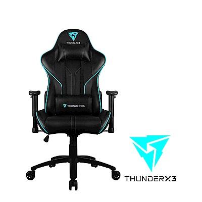 【ThunderX3】RC3 AIR系列 電競賽車椅(黑藍色)