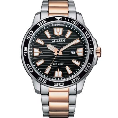CITIZEN星辰 GENT S 光動能限量休閒男士腕錶(AW1524-84E)-44.5mm