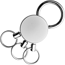 《REFLECTS》分類鑰匙圈(銀)