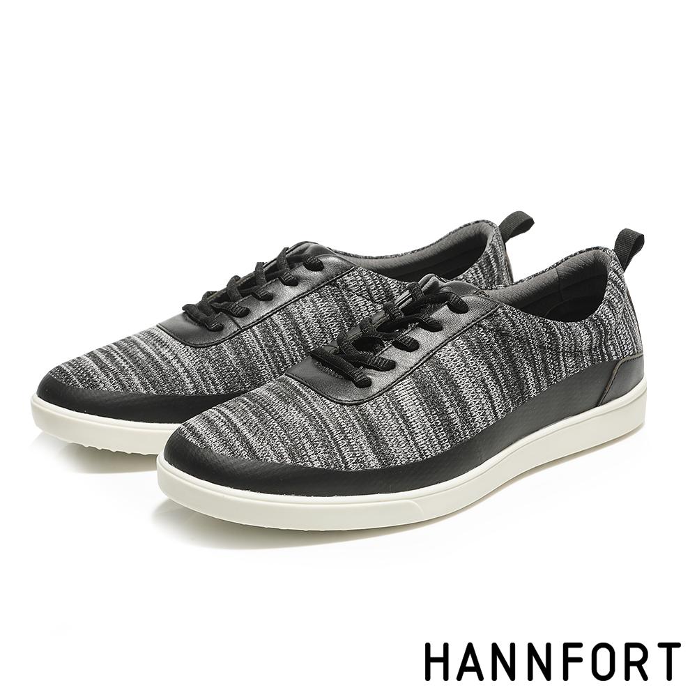 HANNFORT CARIBBEAN編織牛皮休閒鞋-男-毛毯灰 @ Y!購物