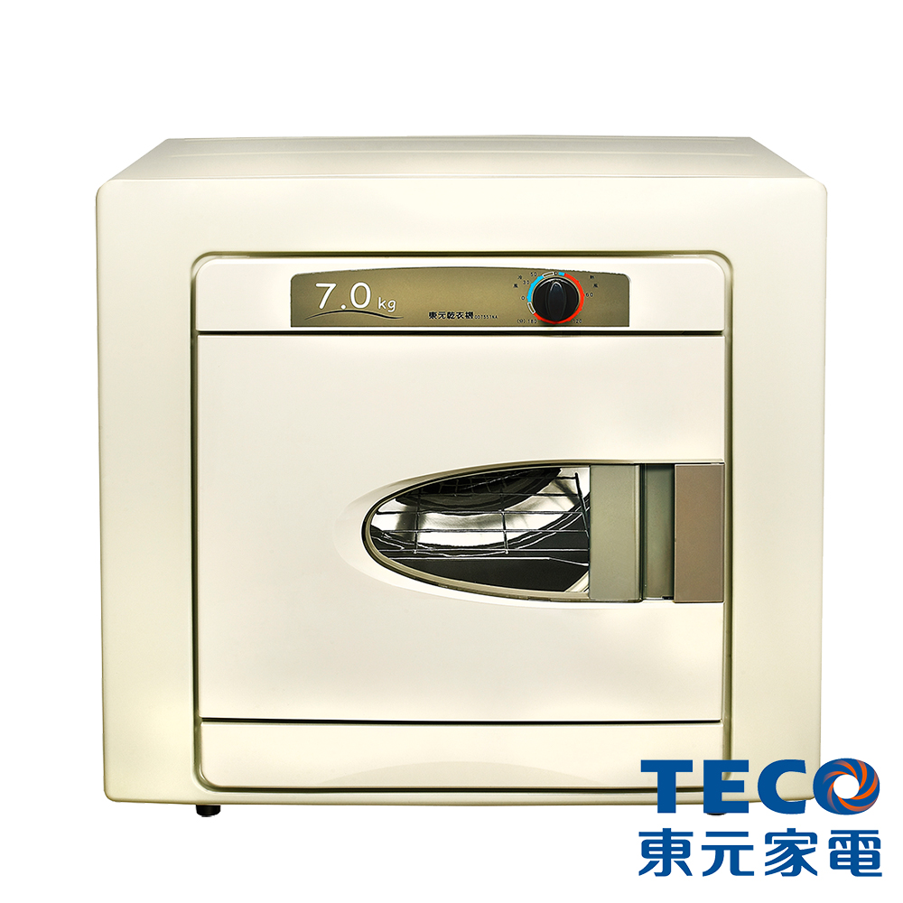 TECO東元 7KG 電子式乾衣機 QD7551NA