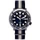 SEIKO 黑色時尚風帆布錶帶機械錶(SRPC67K1)-黑面/45mm product thumbnail 1