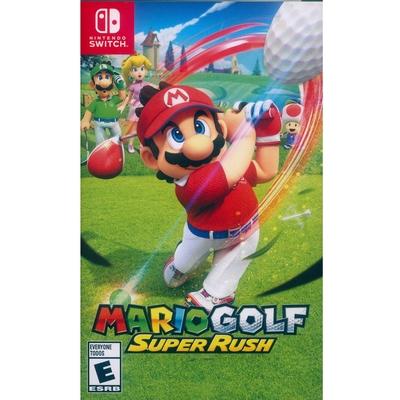 瑪利歐高爾夫 超級衝衝衝 Mario Golf  Super Rush - NS Switch 中英日文美版