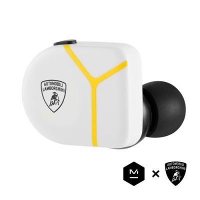 Master & Dynamic MW07 PLUS X Lamborghini 限量聯名款 白黃
