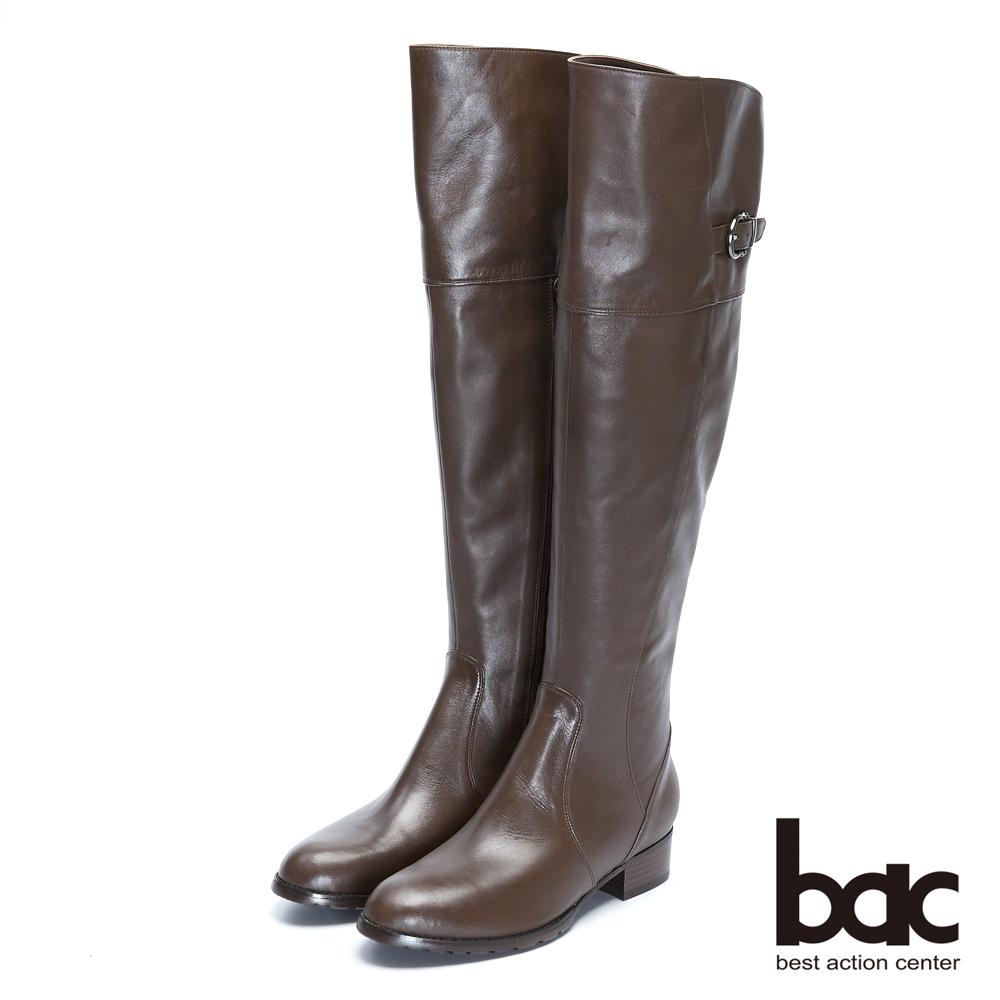 【bac】時尚玩家 - 2WAY百搭兩穿翻摺過膝長靴