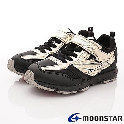 日本月星頂級競速童鞋 閃電競速系列 EI873金(中大童段)