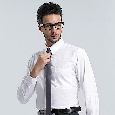 Emilio Valentino 范倫提諾仿天絲條紋長袖襯衫-三色任選
