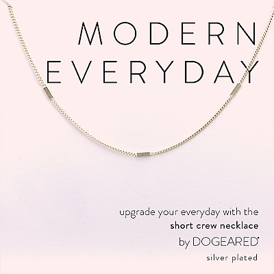 Dogeared 優雅平衡骨頸鍊 銀色頸鍊 925純銀 多墜式設計 附原廠盒