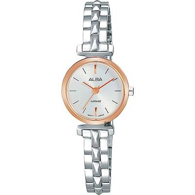 ALBA 雅柏 Fashion lady 幾何女孩流行手錶(AK3042X1)-21mm