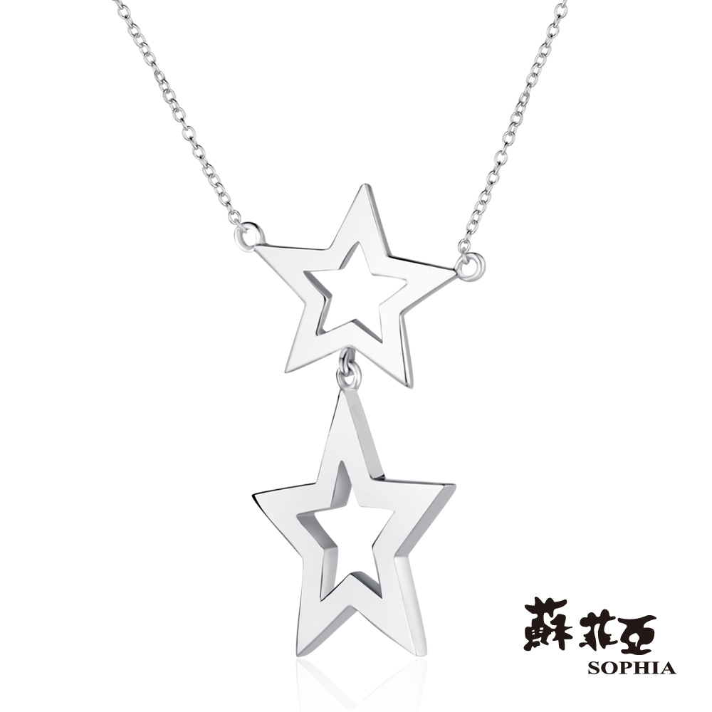 蘇菲亞SOPHIA - 流星雨純銀項鍊