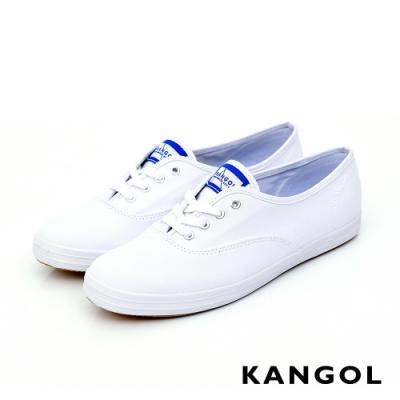 【KANGOL】經典款帆布鞋-共三色