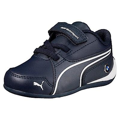 PUMA-BMWMSDriftCat7VPS孩童鞋-車隊藍