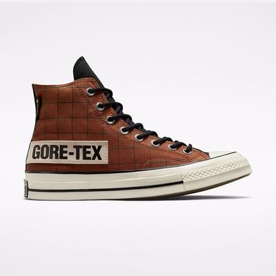 CONVERSE CHUCK 70 GTX HI 高筒 休閒鞋 男鞋 女鞋 拼接 咖啡黑-171442C